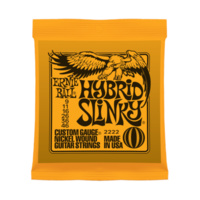 Ernie Ball Hybrid Slinky Electric Guitar Strings