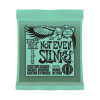 Ernie Ball Not Even Slinky Electric Guitar Strings