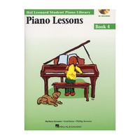 Hal Leonard Piano Lessons w/CD - Book 4