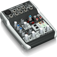 Behringer Xenyx Q502USB Premium 5-Input, 2-Bus Mixer with USB/Audio Interface