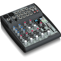 Behringer Xenyx 1002FX Premium 10-Input, 2-Bus Mixer with Multi FX Processor