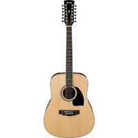 PF1512 DREADNOUGHT SIZE GTR 12 STR NATURAL SPR-T