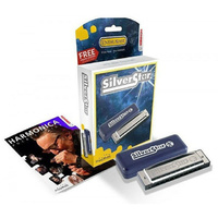 Hohner Enthusiast Series Silverstar Harmonica in the Key of D