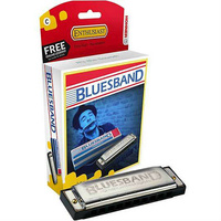 Hohner Enthusiast Series Bluesband Harmonica in the Key of C