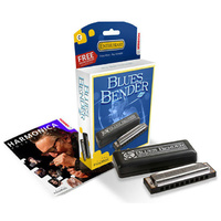Hohner Enthusiast Series Blues Bender Harmonica in the Key of F