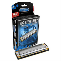 Hohner MS Series Big River Harmonica in the Key of D