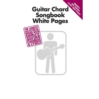 Guitar Chord White Pages Songbook