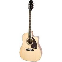 Epiphone AJ-220SCE Solid Top Acoustic-Electric Guitar Natural