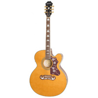 Epiphone EJ-200SCE Acoustic Electric Guitar - Vintage Natural