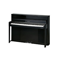 Kurzweil CUP1 Ebony Polish Compact Digital Upright Piano 88-Keys