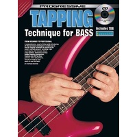 Progressive Tapping Technique for Bass Book/CD
