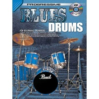 Progressive Blues Drums Book/CD