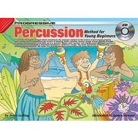 Progressive Percussion Method for Young Beginners Book/CD