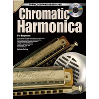 Progressive Chromatic Harmonica Book/CD