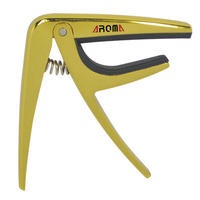AROMA AC01 GOLD ACOUSTIC/ELECTRIC CAPO
