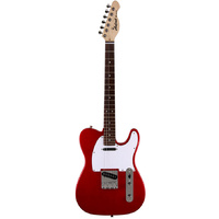 Aria 615 Frontier Series Electric Guitar in Candy Apple Red