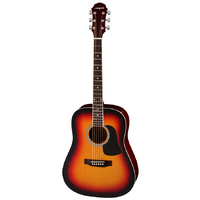 Aria AW-15 Dreadnought Acoustic Guitar in Brown Sunburst