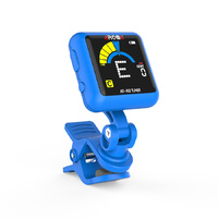 AROMA AT102BL RECHARGABLE CHROMATIC CLIP-ON TUNER BLUE