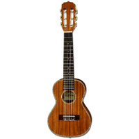 Aria G-Uke Series 6-String Guitalele in Natural Mahogany Semi-Gloss Finish