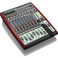 Behringer Xenyx UFX1204 Premium 12-Input, 4-Bus Mixer with 16x4 USB/FireWire Interface, 16-Track USB Recorder & Multi-FX Processor
