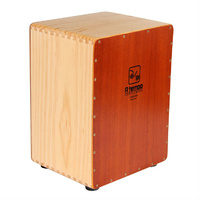 A Tempo Percussion Basic 3/4 Size Flamenco Cajon in Natural Satin Finish