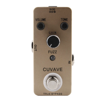 Cuvave Fuzz Pedal