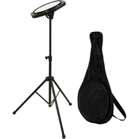 "Drumfire Practice Pad Kit with 8"" Pad, Stand & Bag"