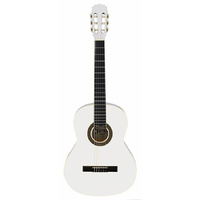 Aria Fiesta 3/4-Size Classical/Nylon String Guitar in White