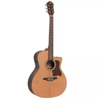 Gilman GA12CE Grand Auditorium Acoustic Electric Guitar