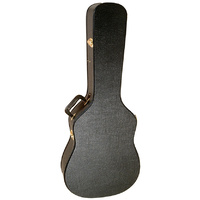 On Stage Acoustic Guitar Case in Black