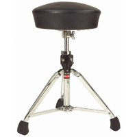 Gibraltar 9600 Series Drum Throne with Dome Design Cloth Top & Vinyl Sides