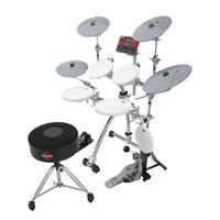 "Gibraltar Road Chrome Series Stealth ""E-Rack"" Electronic Drum Rack"