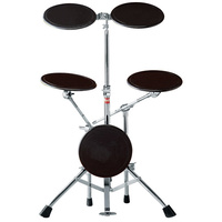 Gibraltar 5-Piece Drum Practice Pad Kit with Elliptical Leg Base Assembly
