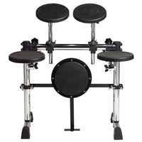 Gibraltar 5-Piece Drum Practice Pad Kit on Rack Assembly