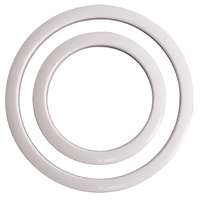 "Gibraltar Port Hole Protector 4"" White Finish - Pk 1"