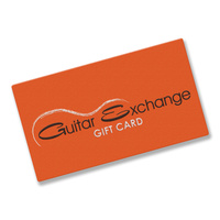 Guitar Exchange Gift Card