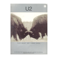U2 - The Best of 1990-2000 PVG Book
