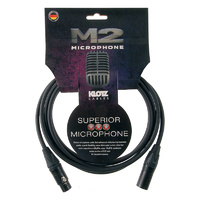 Klotz M2 Recording Microphone Cable - Choose Length