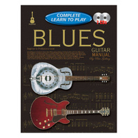 Progressive Complete Learn to Play Blues Guitar Manual w/CD