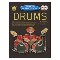 Progressive Complete Learn to Play Drum Manual w/CD