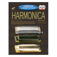 Progressive Complete Learn to Play Harmonica Manual w/CD