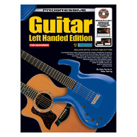 Progressive Left-Handed Guitar Book w/CD