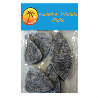Kealoha Felt Ukulele Picks Assorted Sizes Pk-6 Made from hard felt for Ukulele playing