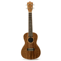 Lanikai Acacia Series 8-String AC/EL Ukulele in Natural Satin Finish with Lanikai Deluxe Gig Bag