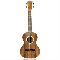 Lanikai Acacia Series Tenor Ukulele in Natural Satin Finish with Lanikai Deluxe Gig Bag