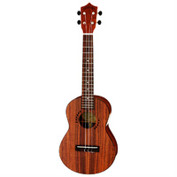 Leolani Solid Koa Series Tenor Ukulele with Gigbag