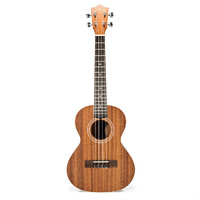 Lanikai Mahogany Series Tenor Ukulele in Natural Satin Finish with Lanikai Standard Gig Bag