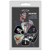 Perris 6-Pack Elvis Presley Licensed Guitar Pick Packs