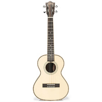Lanikai Soild Spruce Top Series Tenor Ukulele in Natural Satin Finish with Lanikai Deluxe Gig Bag