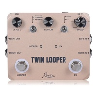 Rowin Twin Series LTL02 Guitar Looper Pedal
